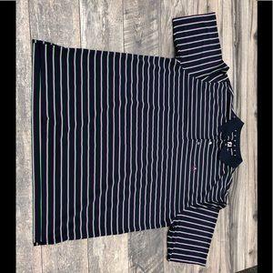 Footjoy golf striped polo